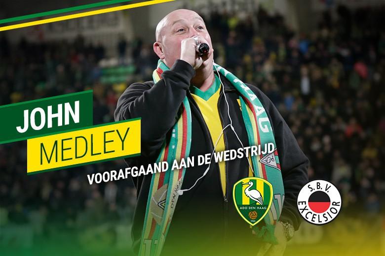 John Medley treedt op bij Ado Den Haag - Excelsior