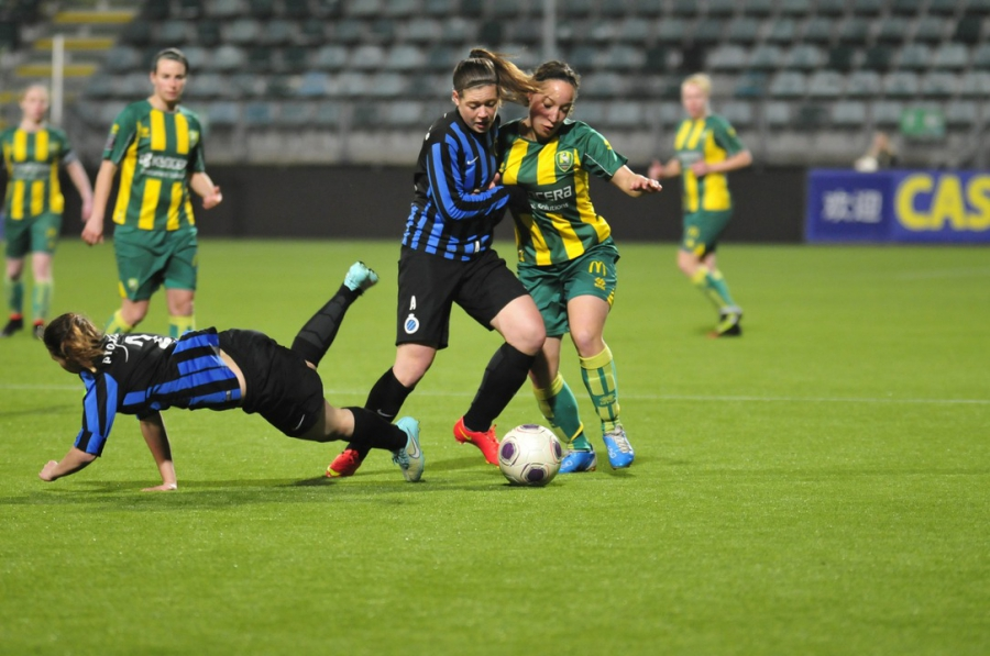 Kleurplaten Voetbal Lierse.Wedstrijdverslag Unieke Zege Ado Den Haag Vrouwen Op Club Brugge