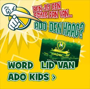 ADO Kids aanmelden