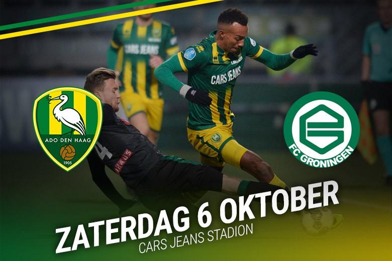 Alles over ADO Den Haag - FC Groningen