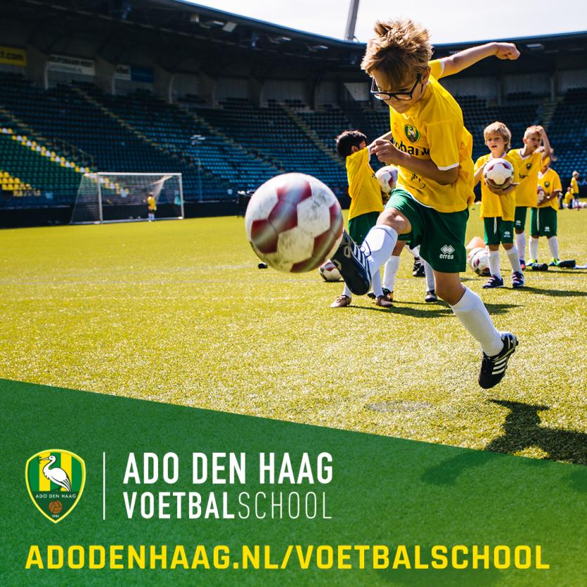 ADO Den Haag Voetbalschool zoekt talentvolle voetballers