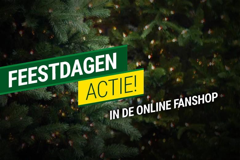 Feestdagenactie in de online Fanshop: geen verzendkosten!