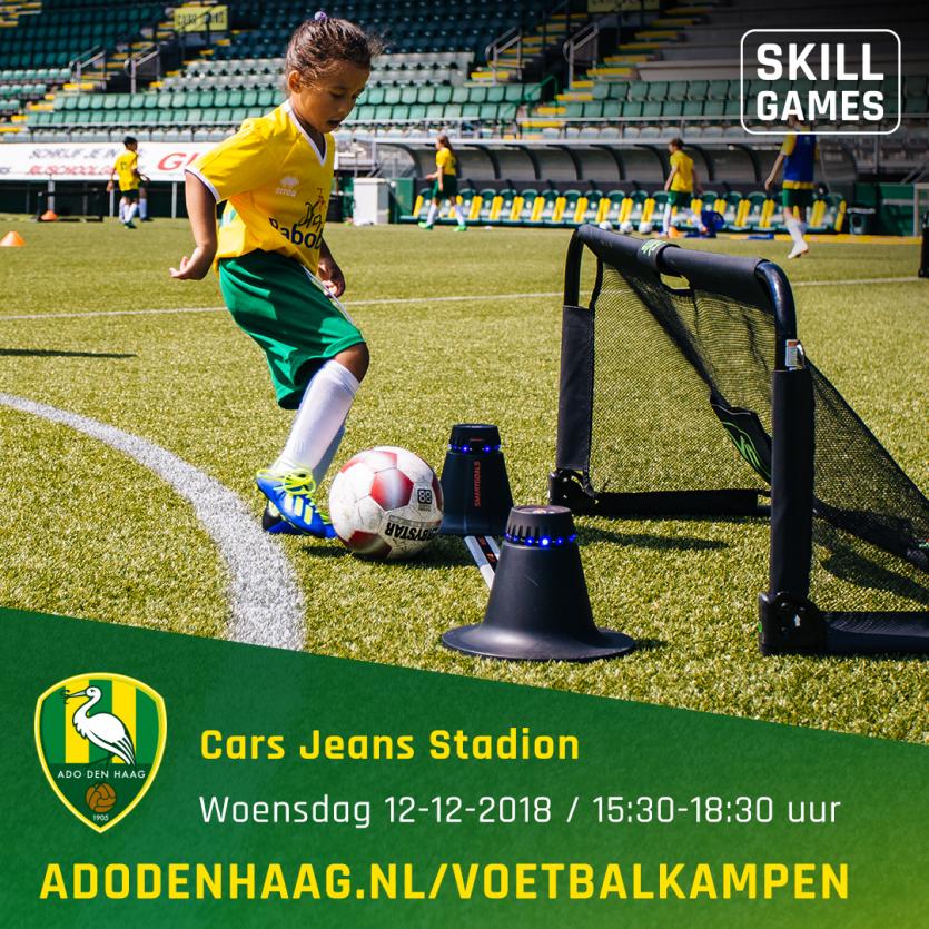 ADO Den Haag Skill Games op woensdagmiddag 12 december!