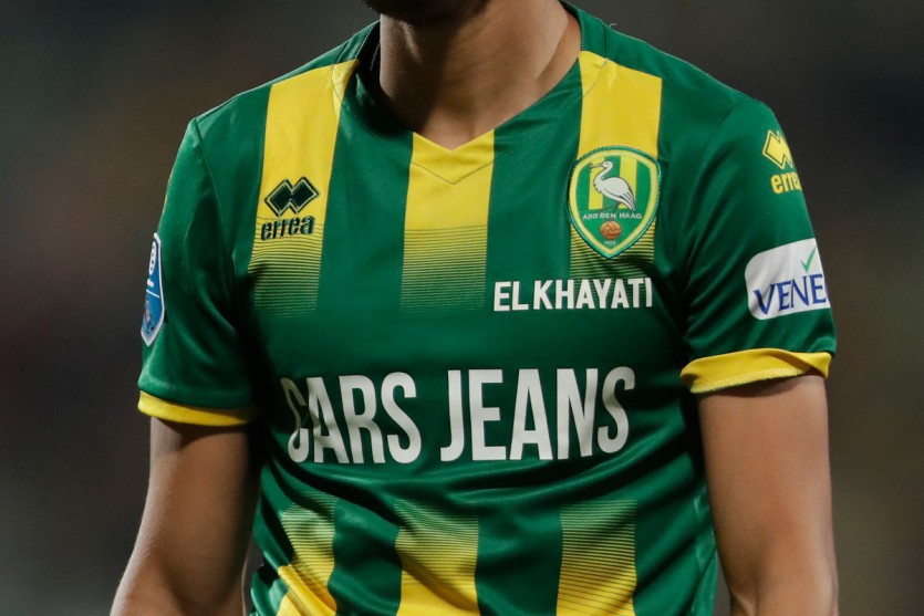 Nieuw: spelersnamen op voorkant wedstrijdshirt!