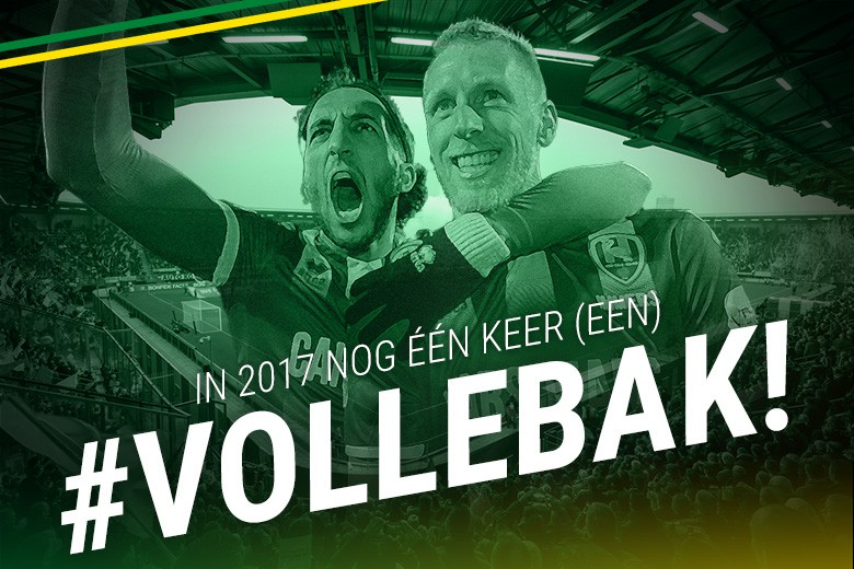 Nog 1 x volle bak in 2017 !