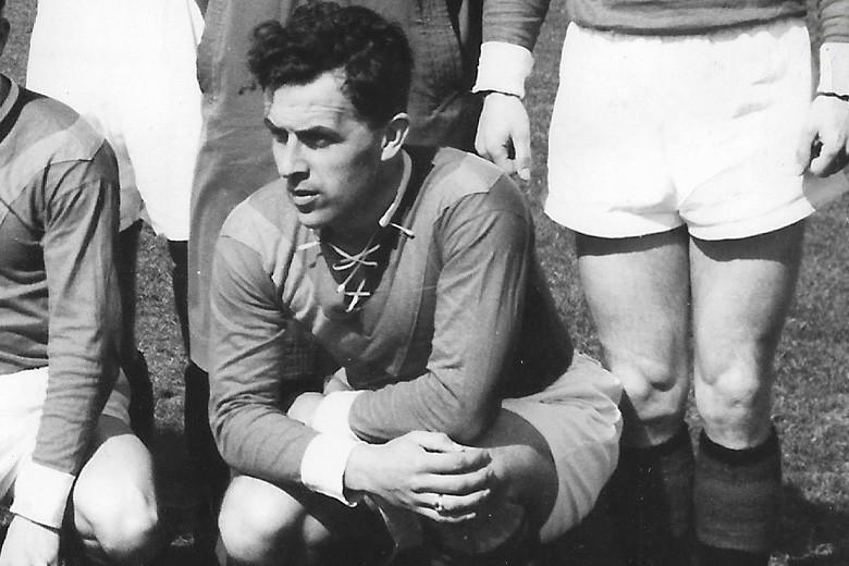 Oud-speler en HFC-erelid George van Rosmalen (93) overleden