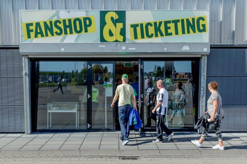 Fanshop gesloten 4 juni t/m 25 juni wegens verbouwing.