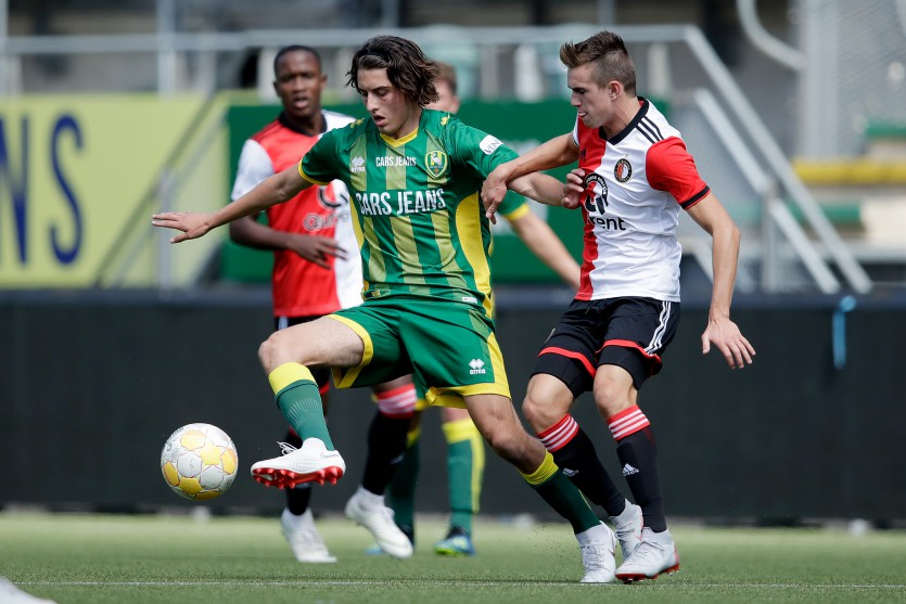 ADO Den Haag 2 - Feyenoord 2 gaat maandag niet door
