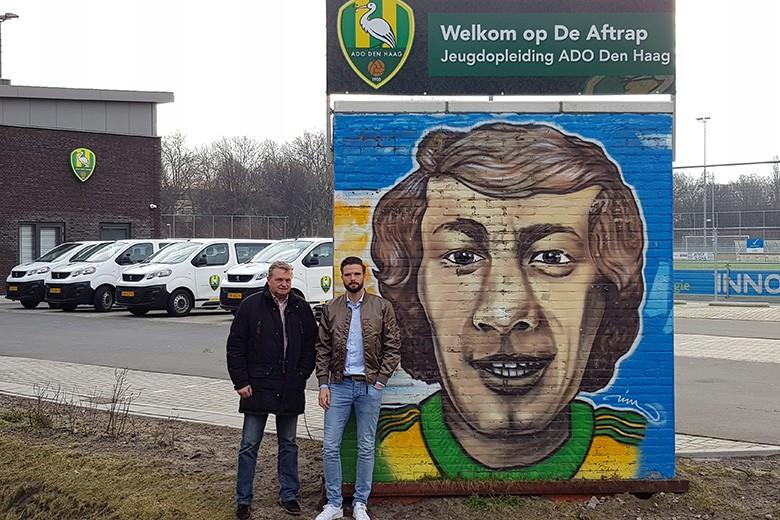 Jan Knijnenburg B.V. herstelt graffitimuur Aad Mansveld in ere