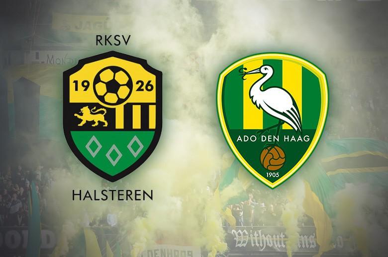 Ado Den Haag oefent op 8 juli tegen  RKSV Halsteren