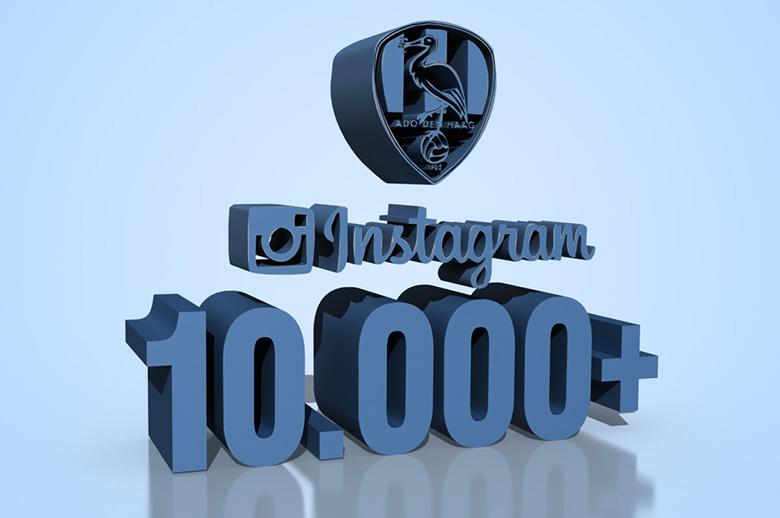 10 000 Volgers Op Instagram Ado Den Haag
