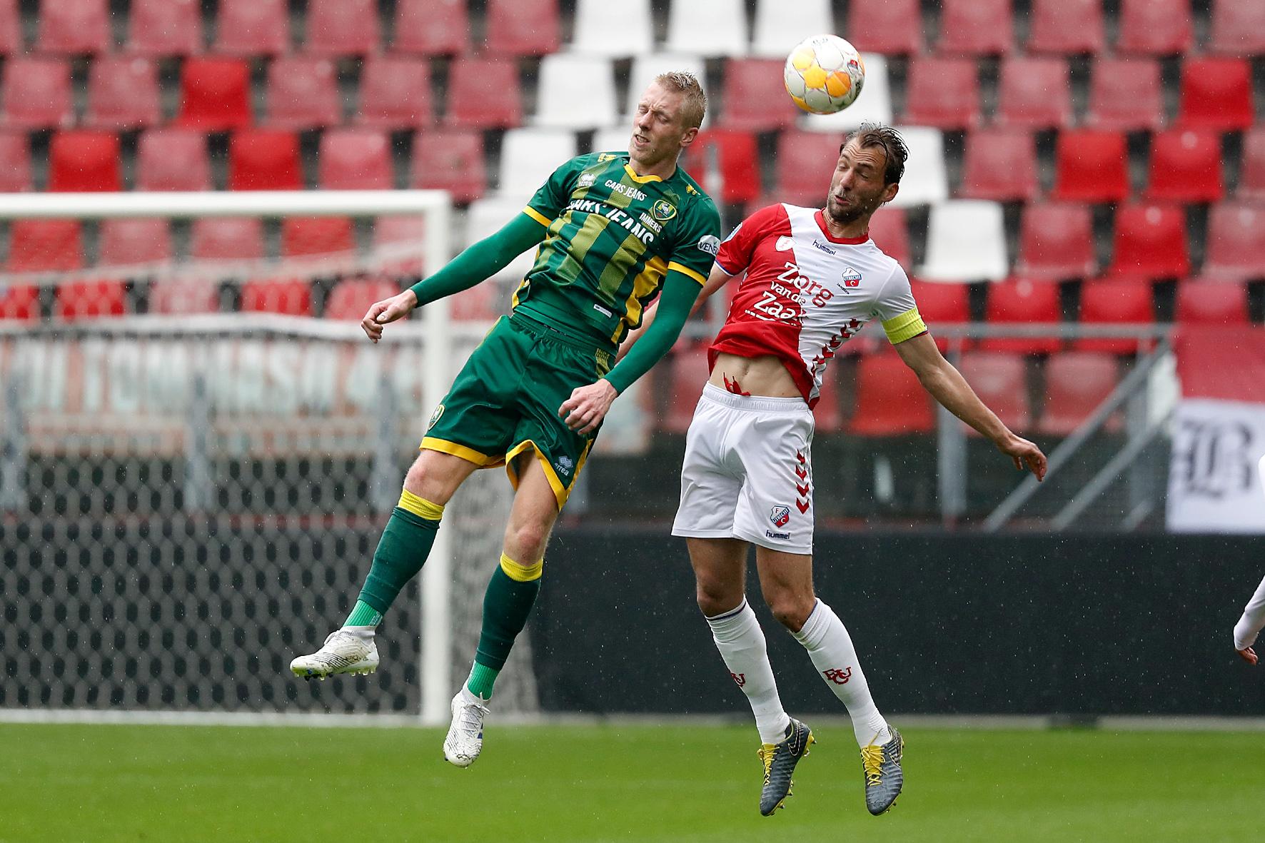 ADO Den Haag nipt onderuit in oefenduel bij FC Utrecht