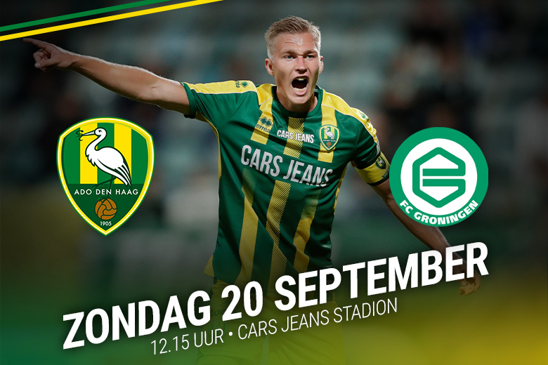 Ado Den Haag Fc Groningen Uitverkocht Ado Den Haag
