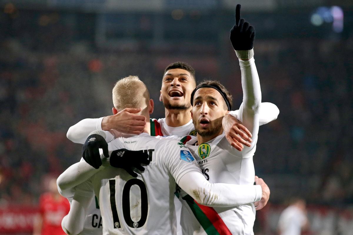 Late Goal El Khayati bezorgd Ado Den Haag zwaarbevochten zege bij FC Twente.