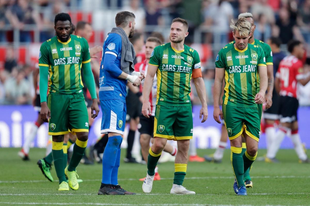 ADO Den Haag mag lang hopen, maar verliest bij PSV