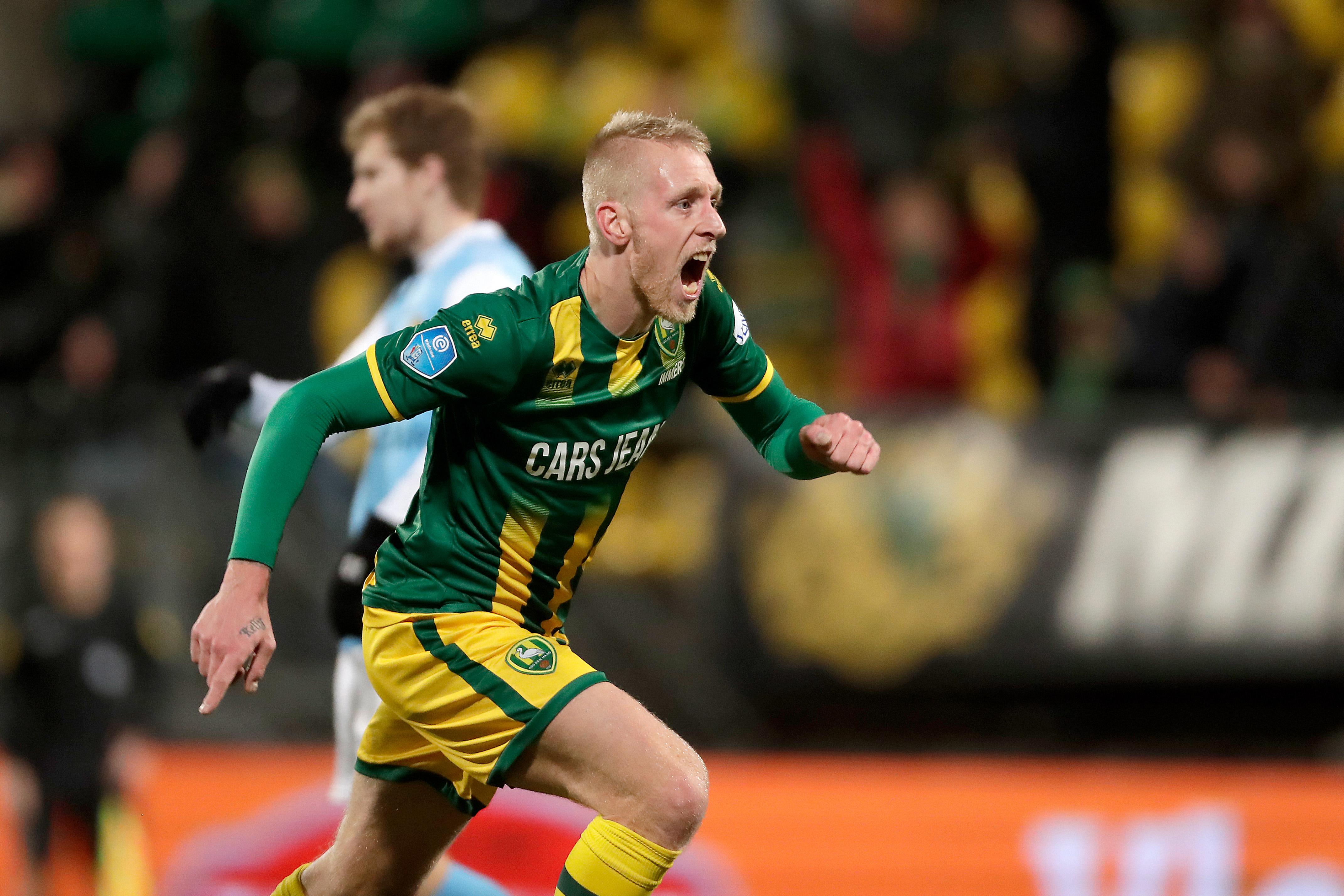 Ado Den Haag komt twee keer terug van achterstand tegen Roda.
